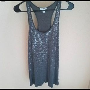 Old Navy glitter tank top